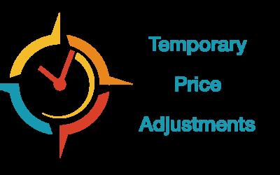 Temporary COVID-19 Price Adjustments